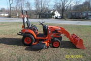 2012 Kubota BX2360 4X4 Tractor Loader Belly Mower