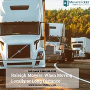 Raleigh Movers: When Moving Locally or Long Distance